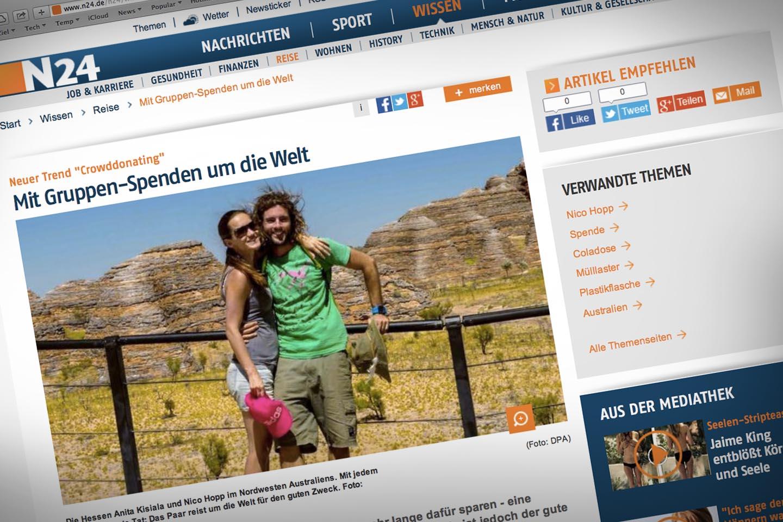 Youkeepustraveling N24 News Nachrichten