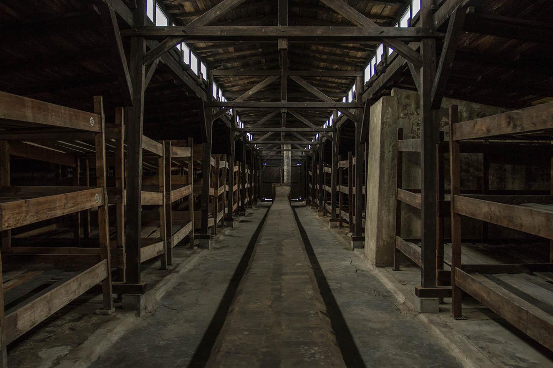 Barracks sleeping room Birkenau concentration Camp Konzentrationslager Schlafräume