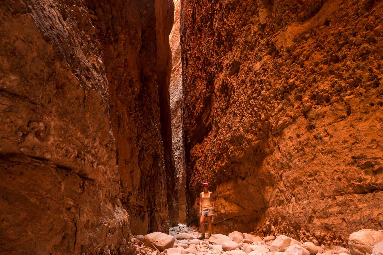 Echidna Chasm Gorge at Purnululu National Park Western Australia