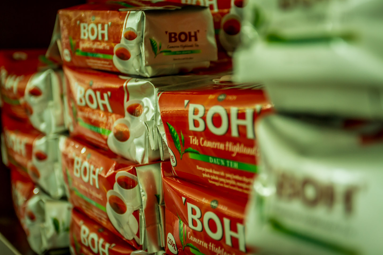 BOH Best of Highlands Tea package black tea Cameron Highlands Malaysia