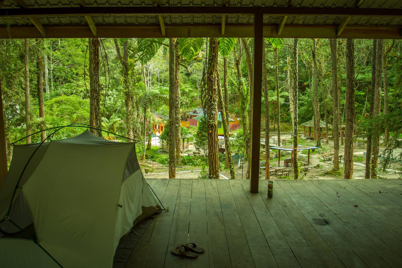 Camp site near Tanah Rata Cameron Highlands Malaysia