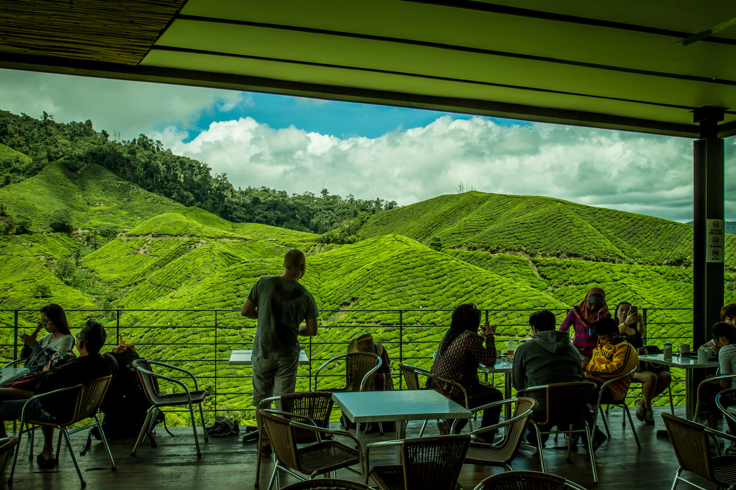 BOH Best of Highlands Tea cafeteria and restaurante Cameron Highlands Malaysia