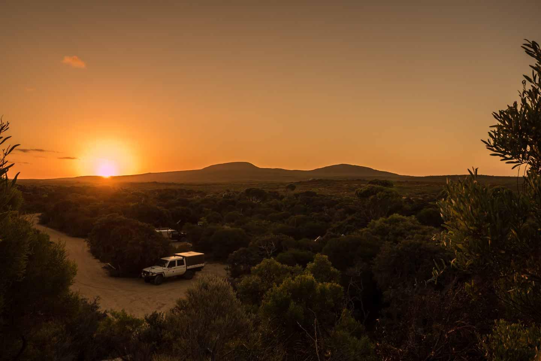 Camp Seal Creek camping ground Cape Arid National Park Western Australia
