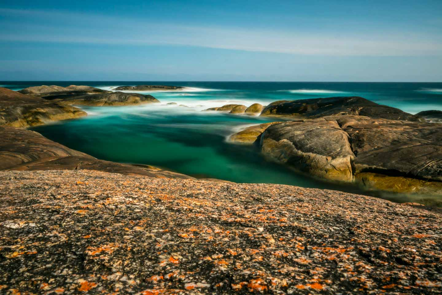 Elephant Rocks and Greens Pool in William National Park Denmark Western Australia