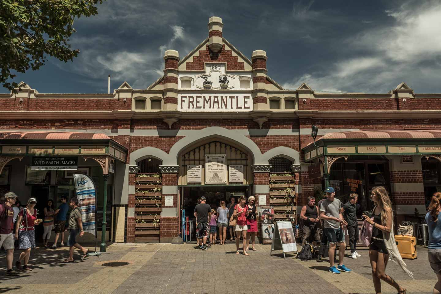 Fremantle Markets downtown attraction close to Perth Western Australia