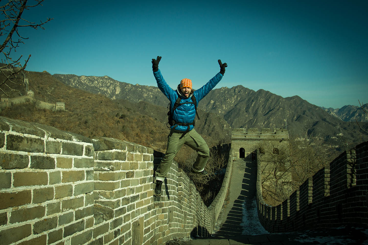 The Great Wall China / Chinesische Mauer / Nico Hopp
