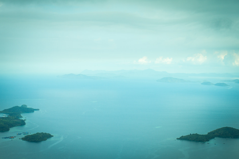 View from the platform of Tower of Heaven, Menara Kayangan, Lahad Datu, Borneo, Sabah, Malaysia