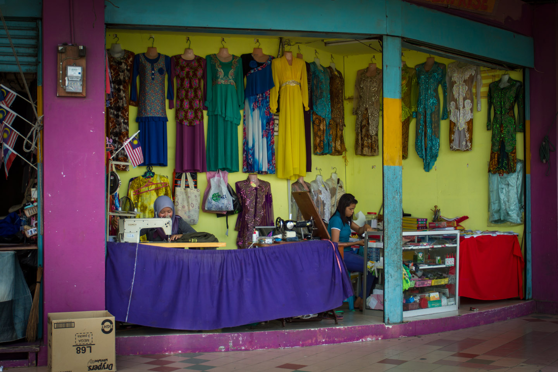 Local store in Lahad Datu, Borneo, Sabah, Malaysia