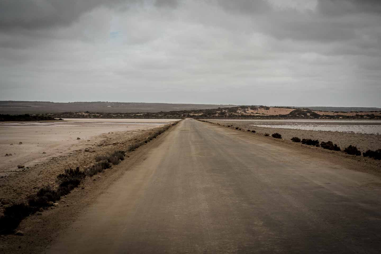 youkeepustraveling 4WD dirt track into Cactus Beach Ceduna South Australia