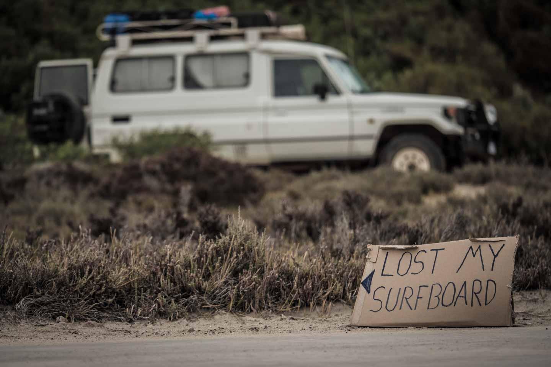 youkeepustraveling lost my Al Merrick Rookie surfboard in Cactus Beach Ceduna South Australia