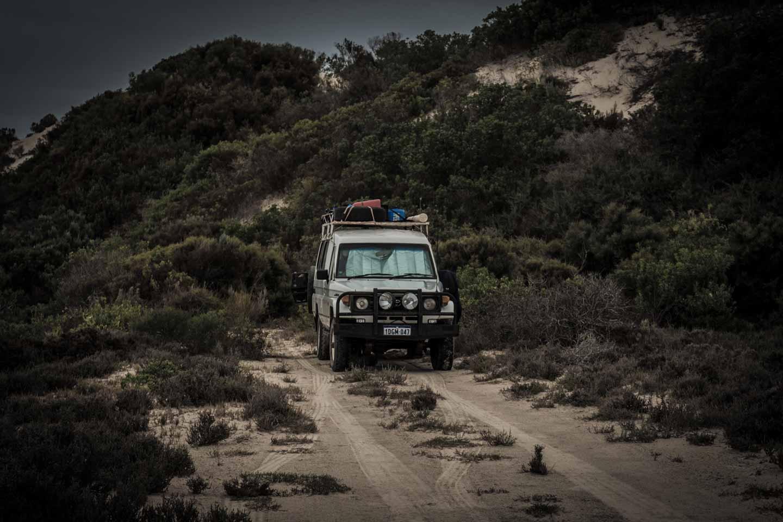 youkeepustraveling wild camping free camp at Cactus Beach Ceduna South Australia