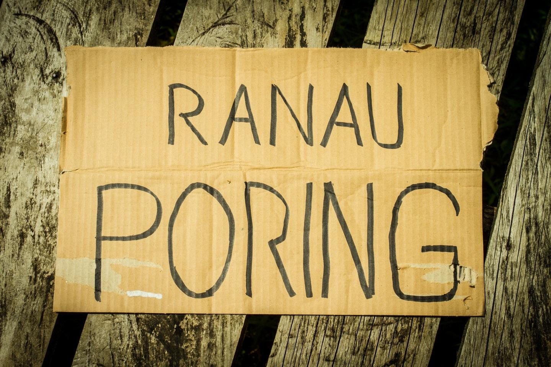 Ranau Poring hitchhiking Mount Kinabalu Sabah Borneo Malaysia