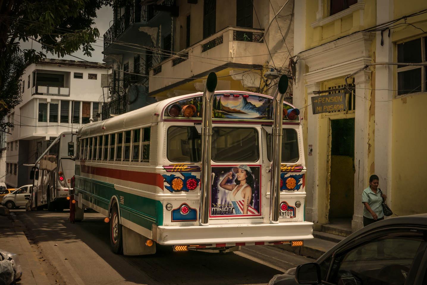 Panama City public transport  YKUT Youkeepustraveling