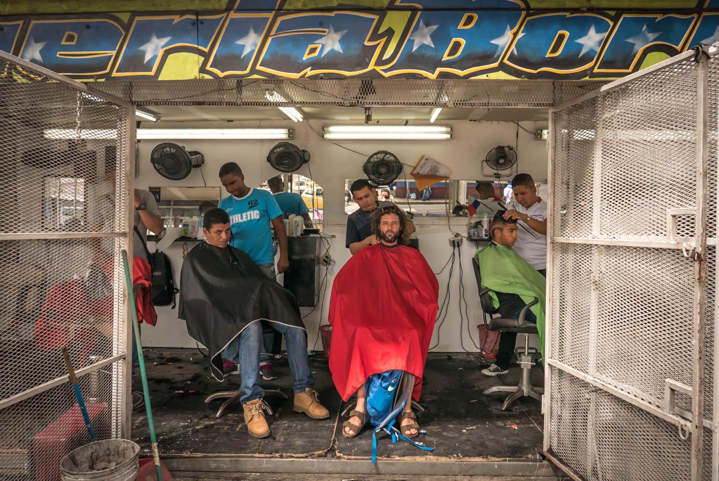 Panama City barber shop YKUT Youkeepustraveling