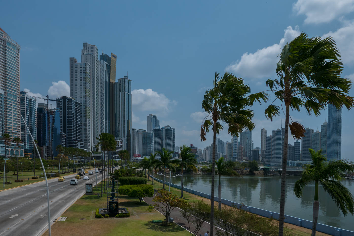 Panama City Financial District and Waterfront by YKUT Youkeepustraveling