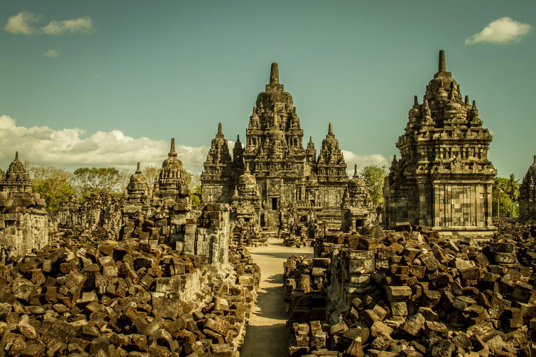Candi Sewu Hindu Buddhist Temple Java