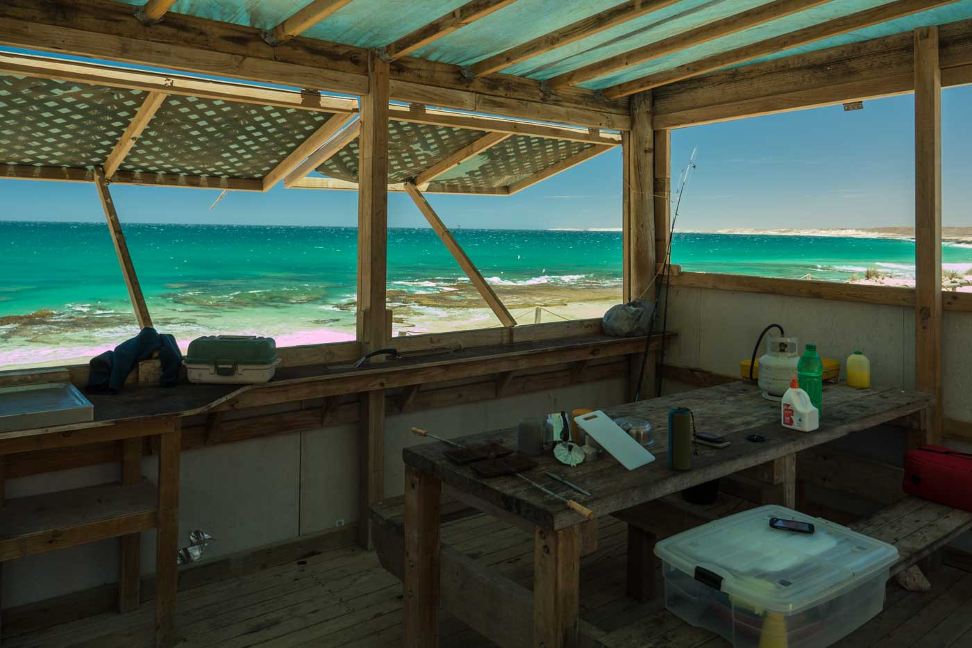 The Green Room at Red Bluff Camping Surf Spot Western Australia surfing big wave Ningaloo Reef