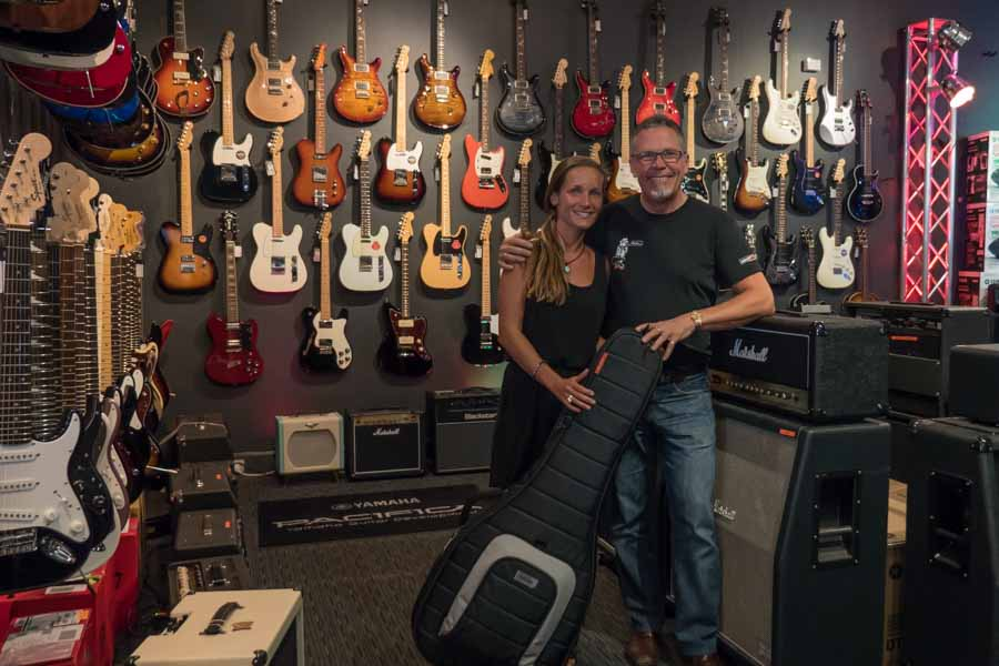 youkeepustraveling Donation Sponsor Perth Concept Music store Graham Hoskins