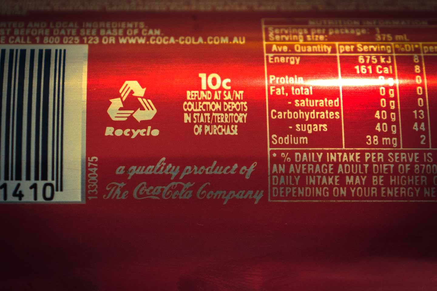 10 cent refund for recycling cans and bottles in Northern Territory and South Australia