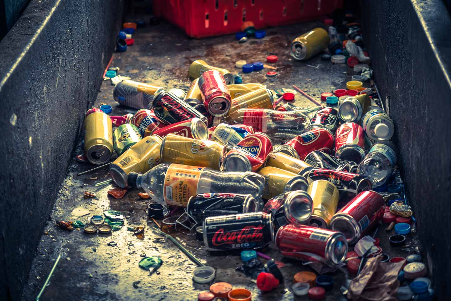 Reuse Recycle Recycling Cans and Bottles Australia waste management by YKUT YouKeepUsTraveling