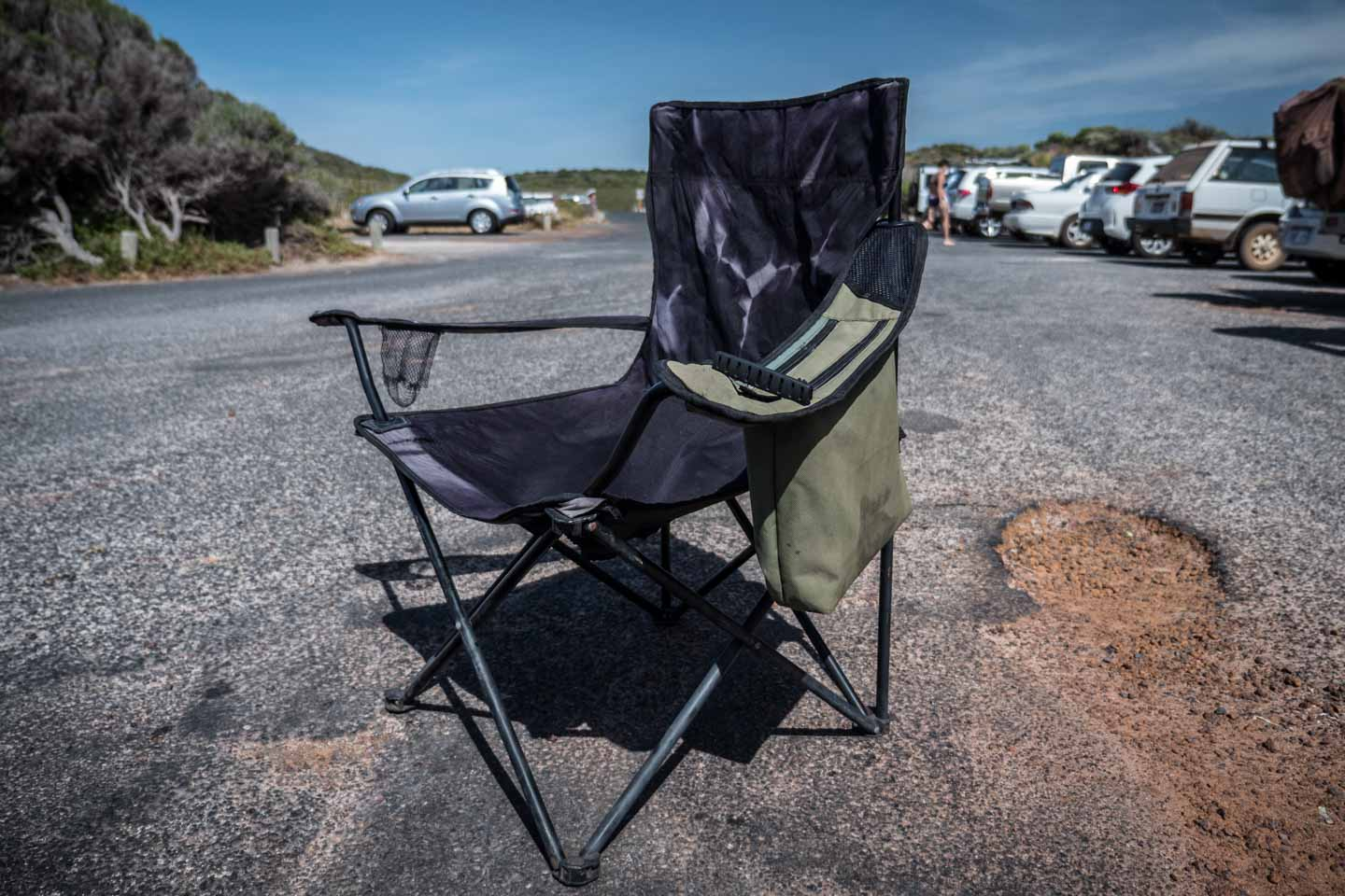 Reuse Recycle Recycling Camping Chair in Western Australia waste management YKUT YouKeepUsTraveling
