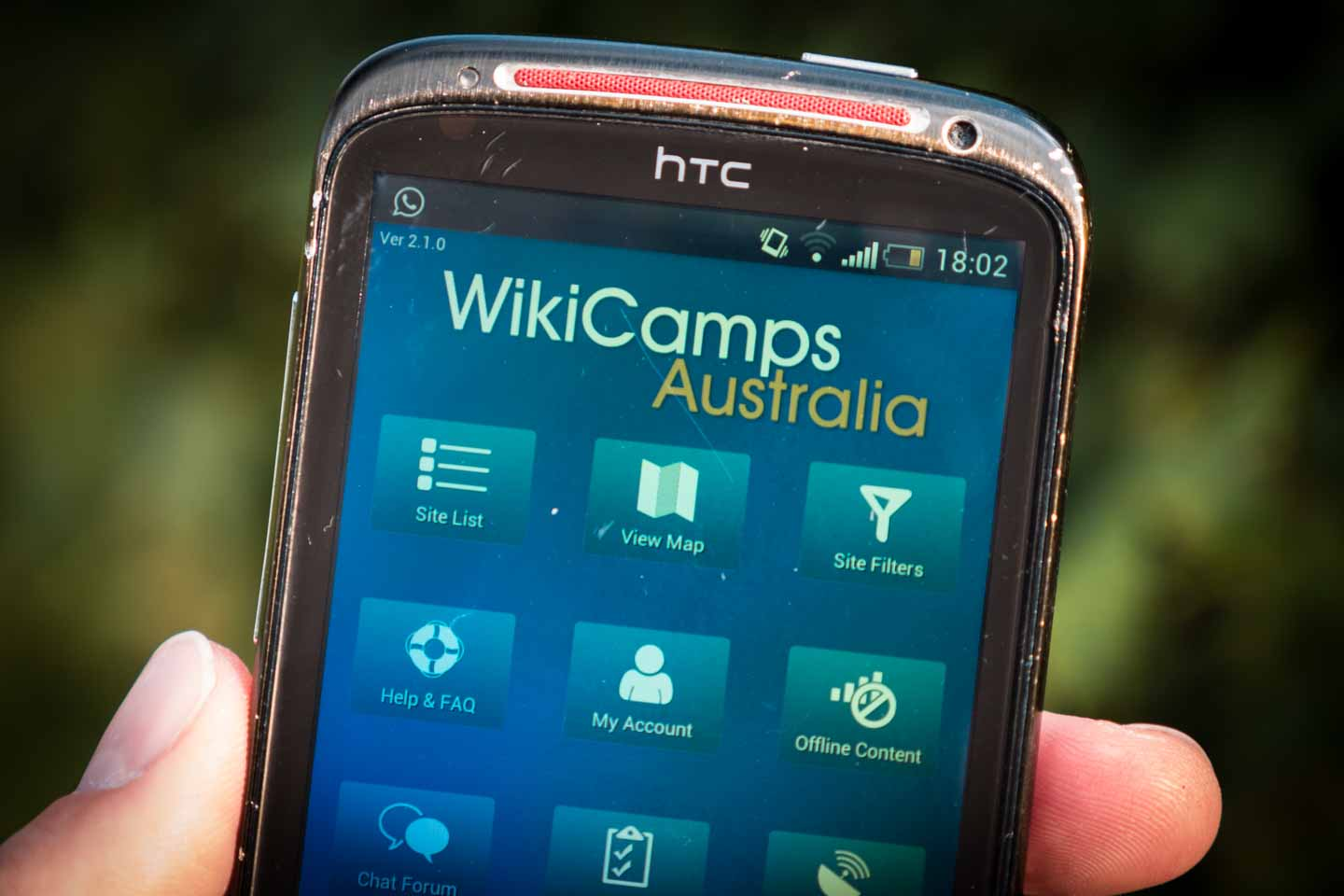 WikiCamp App for New Zealand and Australia